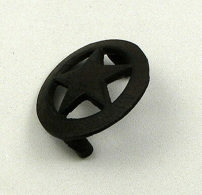 Large Star  Drawer Pull (Set Of 10)  Cast Iron Cabinets, Drawers  Western Decor 3