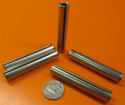 "420 Stainless Steel, Slotted Roll Spring Pin, 7/16"" Dia x 2 1/2"" Length, 5 pcs 4"