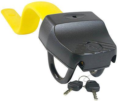 Stoplock Pro Elite Yellow Anti Theft Security Steering Wheel Lock to fit Audi A6