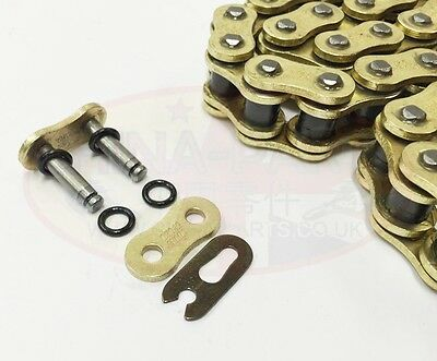 Heavy Duty Motorcycle O-Ring Drive Chain 530-120 Links