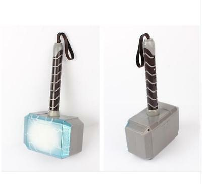 Avengers LED Glowing Sounds Thor Hammer Axe Helmet Mask Kids Cosplay Toys US 7