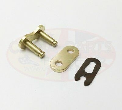 Heavy Duty Motorcycle Drive Chain 530-120 Gold
