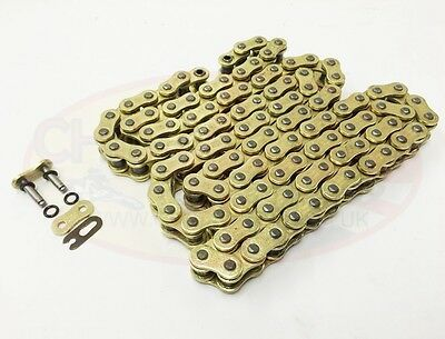 Heavy Duty Motorcycle O-Ring Drive Chain 530-108 for Triumph 1050 Speed Trip. 13