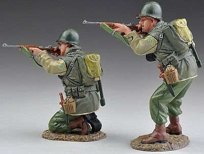 THOMAS GUNN WW1 GERMAN GW028C KNEELING /& STANDING FIRING RIFLES WINTER MIB