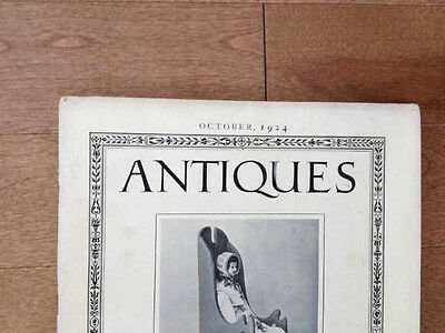 Volume 6 Number 4 Antiques Monthly Publication October 1924 19th Century Dolls 7