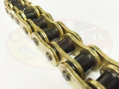 Heavy Duty  Motorcycle X-Ring Gold Drive Chain 530-110L Yamaha FJ1200, A 91-96