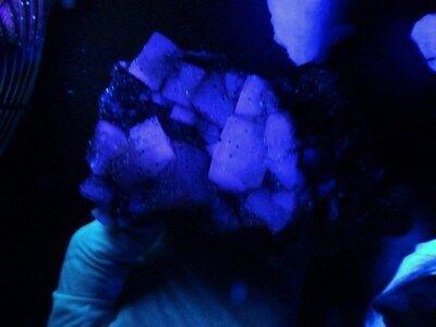 """Minerales """" Extraordinarios Cristales Cubicos De Fluorita Marruecos  -  2A18 """". 10"""