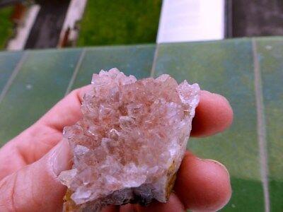 """Minerales """" Excelnte Drusa De Amatista De Akka (Marruecos)  -  12B17 """" 2"""