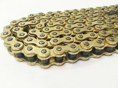 Quad Bike Heavy Duty Gold Drive Chain  428H / 112L inc Connecting Split Link