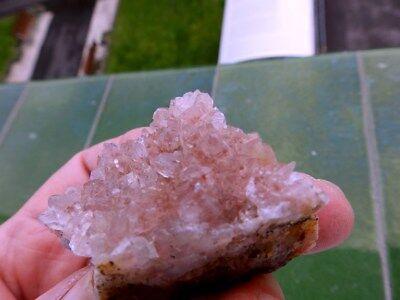 """Minerales """" Excelnte Drusa De Amatista De Akka (Marruecos)  -  12B17 """" 3"""