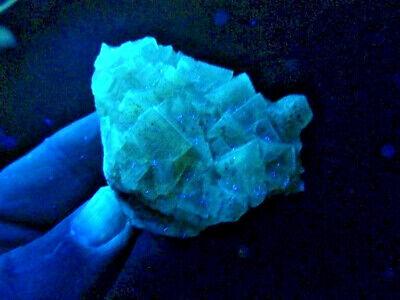 "Minerales "" Fantasticos Cristales Fluorescentes De Fluorita(Asturias) -  9A18 "" 2"