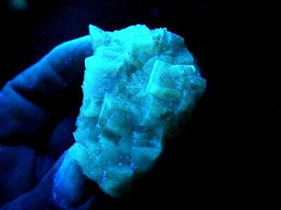 "Minerales "" Fantasticos Cristales Fluorescentes De Fluorita(Asturias) -  9A18 "" 9"