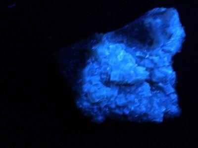 """Minerales """" Preciosos Cristales Fluorescentes De Fluorita Mina Moscona -10A17 """" 2"""