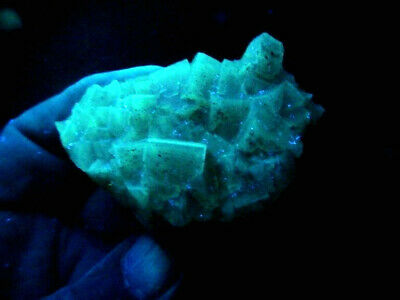"Minerales "" Fantasticos Cristales Fluorescentes De Fluorita(Asturias) -  9A18 "" 6"