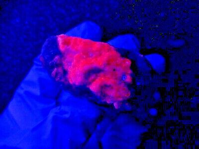 """Minerales """" Fantasticos Cristales De Cobalto Calcita De Marruecos  -  1A19 """". 6"""