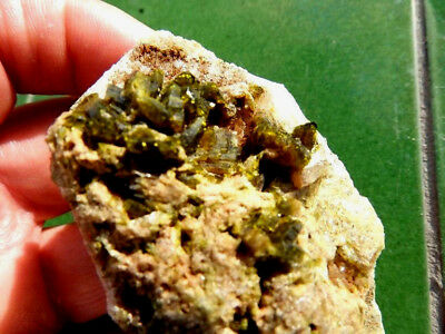 """Minerales"""" Extraordinarios Cristales Arracimados De Epidota De Marruecos-12E17 """" 2"""