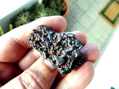 "Minerales "" Extraordinaria Goethita Irisada De Tharsis (Huelva)  -  2B18 "" 3"