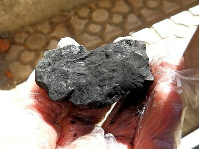 "Minerales "" Extraordinario Mineral  De Shungita  De Rusia  -  3H15 "" 2"