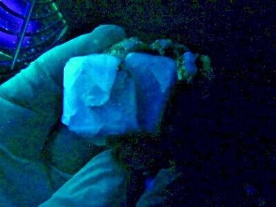 """Minerales """" Extraordinarios Cristales Cubicos De Fluorita De Marruecos - 9A14 """" 7"""