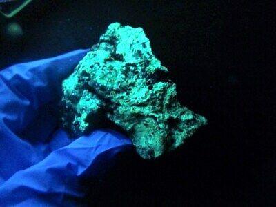 "Minerales "" Fabulosos Cristales Fluorescentes De Tarnowitzita Marruecos- 3B19 "" 8"