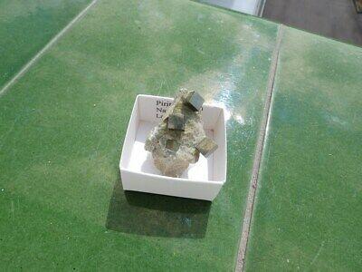 """Minerales """" Bonitas Piritas En Matriz Mina La Grona Navajun(La Rioja) -  9B19 """" 3"""