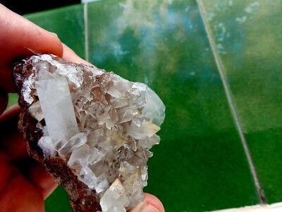 """Minerales """" Fabulosos Cristales Biterminados De Celestina  Pte.tablas  - 10A18 """" 4"""
