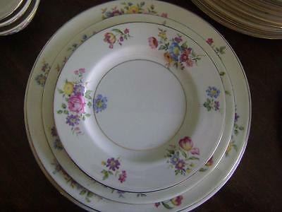 3 of 5 Theodore Haviland Pasadena Porcelain Dinnerware China 74Pc Floral Bridal Vintage & THEODORE HAVILAND PASADENA Porcelain Dinnerware China 74Pc Floral ...