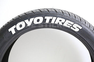 Toyo Tires White Letters >> Toyo Tires Proxes White Tire Lettering 1 50 For 14 16