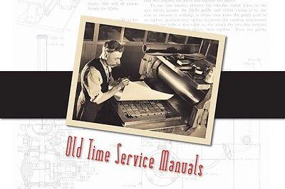Model JK Economy Kerosene & Gasoline Engine 1½ to 2 HP Service Manual Parts List 3
