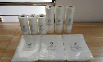 "Food Magic Seal 2-11""x50' Rolls 4 Mil for Vacuum Sealer Storage!! Great $$ Saver 8"