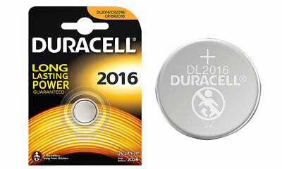 2 x Duracell CR2016 3v Lithium Coin Cell Button Battery (BUY 2 SETS GET 1 FREE) 3