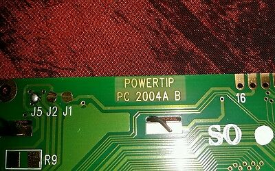 QTY = 1 PowerTip PC 2004A B LCD Display Have more if need.