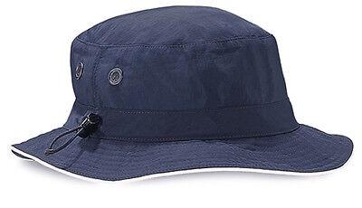 Beechfield BLACK GREY NAVY GREEN Cargo Bucket Hat with Sweatband Lining 2