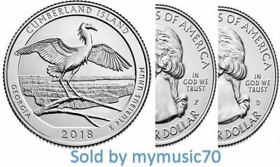 2018 P+D Cumberland Island National Seashore Quarter (GA) ** NOW ON HAND ** 2