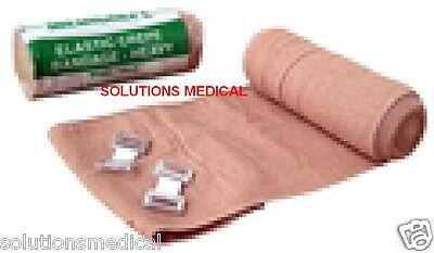 MEDICREPE RETENTION BANDAGE COMPRESSED ELASTIC CREPE HEAVY DUTY 10cm x 1.5m x 6 6