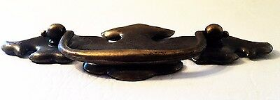 """Antique Hardware .. Chippendale Batwing drawer pulls..3"""" on center 4"""