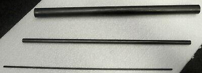 Graphitstab ø 9 - 25 mm, Länge 300 mm Graphitelektrode Anode Rundmaterial Carbon 3