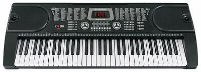 Tastiera Musicale Elettronica 61 Tasti 255 Suoni con Supporto Sgabello Cuffie 4