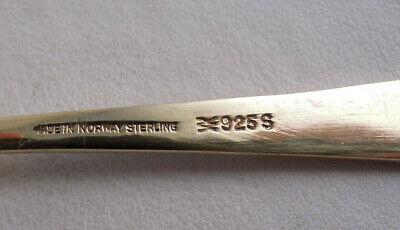 Askel Holmsen Boxed Set Of Sterling Silver Demitasse Spoons Norwegian Landscape 8