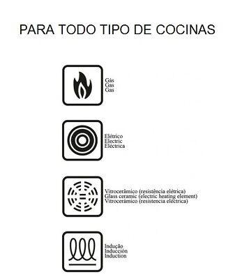 Bateria de cocina juego de ollas 12pzs piezas ROYALTY+LINE INDUCCION GAS VITRO 2