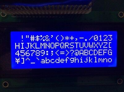 LCD2004 LCD monitor 2004 5V Backlight Screen + IIC I2C Module 5