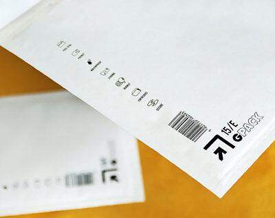Luftpolster Versandtaschen A1 B2 C3 D4 E5 F6 G7 H8 J9 I9 K10 CD Weiß Braun Gold