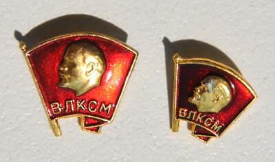 4pcs. RUSSIAN SOVIET USSR PIONEER VLKSM PIN MEDAL ORDER RED STAR AWARD BADGE WAR 12
