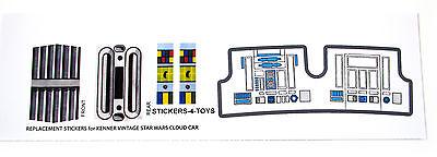 Kenner AT-ST ATST 1982 Vintage Star Wars replacement Sticker set BONUS R2 stika