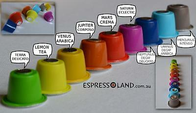 200 coffee pods compatible with all machines Nespresso capsules 10  flavours ava