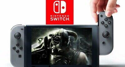 Nuovo Nintendo Switch V2 1.1 Console Grey Portatile 1080 Touchscreen Italia 2019 4