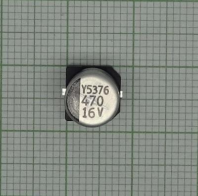 M2068 5 Stück Elkos 470 µF 16 V SMD