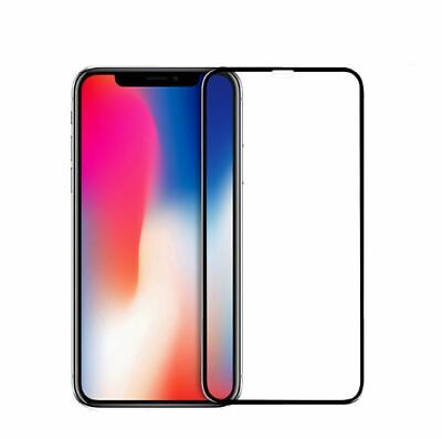 iPhone 11 Pro XS Max XR X 9H Full Coverage Tempered Glass Screen Protector Apple 6