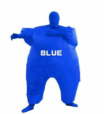 Inflatable Fancy Chub Fat Masked Suit Dress - Blow Up Christmas Party Costume 6