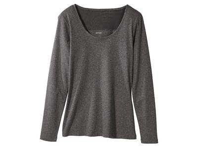 BZ Esmara Langarmshirt Damenshirt modern Shirt lang Top Damen Bluse Neu